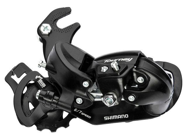 Shimano Tourney RD-TY300 Rear Derailleur 6/7-speed with adapter black